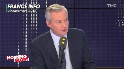 Morning Glory : Bruno Le Maire a-t-il menti (par omission) sur l'affaire Carlos Ghosn ?