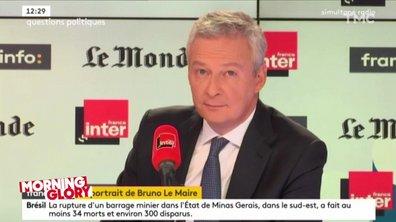 Morning Glory: distribution de claques pour Bruno Le Maire