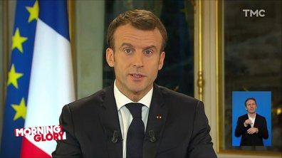 "Morning Glory : l'allocution d'Emmanuel Macron, façon ""problème conjugal"""