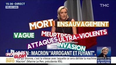 """Morning Glory : la rentrée """"bonheur"""" de Marine Le Pen"""