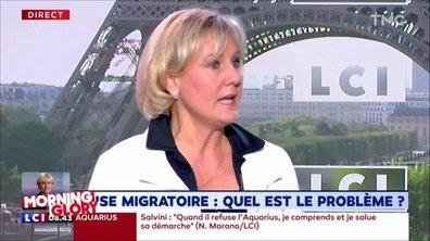Nadine Morano, l'immigration à toutes les sauces