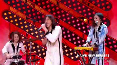 "Les Naive New Beaters - ""Words Hurt"" en live dans Quotidien (exclu web)"