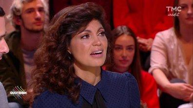 Nawell Madani émue aux larmes sur le plateau de Quotidien