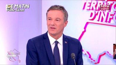"""Nicolas Dupont Aignan veut rassembler les """"amoureux de la France"""""""