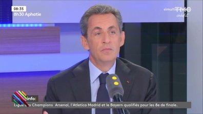Nicolas Sarkozy, doux comme un agneau