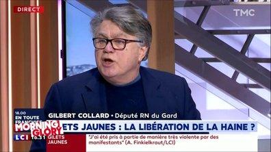 """Alors, non Gilbert Collard, l'expression """"s'en foutre"""" n'a jamais été polie"""