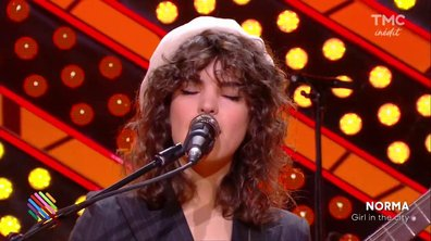"Norma - ""Girl in city"" en live sur Quotidien"