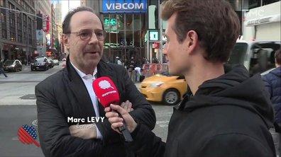 """Marc Lévy :""""Trump est un grossier personnage"""""""
