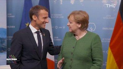 On ne TOUCHE PAS Angela Merkel (Emmanuel Macron l'a bien compris)
