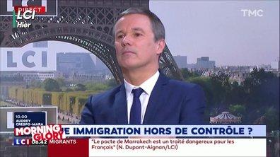 Morning Glory : oubliez Booba et Kaaris, on a Nicolas Dupont-Aignan à la place