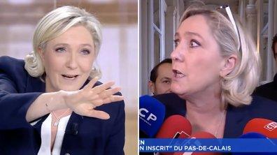 Oups, Marine Le Pen a rechuté