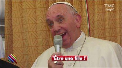 """""""Pape is in the Air"""" où quand le Pape dérape en altitude"""