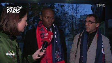 Les anciens Parisiens Patrick Colleter et Amara Simba chauds bouillants en attendant le Real
