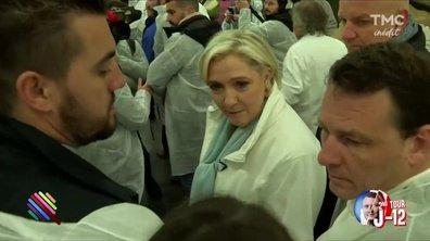 """Passage obligé à Rungis pour Marine """"Gavroche"""" Le Pen"""