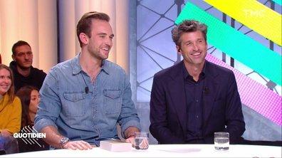"""Invités : Patrick Dempsey et Joël Dicker pour """"La vérité sur l'affaire Harry Quebert"""""""
