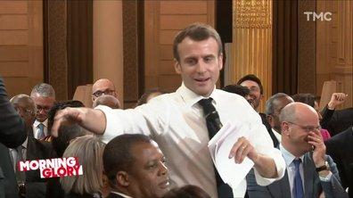 Morning Glory : petit guide pour aider Macron à différencier les enfants des adultes