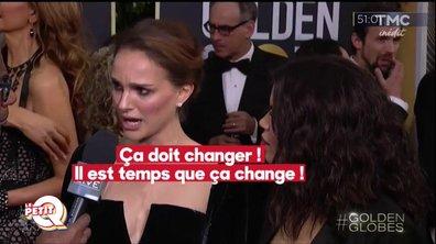 Petit Q - Les femmes se mobilisent contre le harcèlement sexuel aux Golden Globes