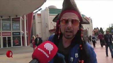 Le Petit Q - Jack Sparrow côtoie Mickey à Disneyland