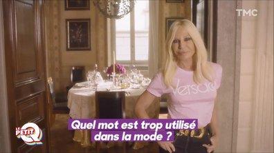 Le Petit Q : L'interview vérité de Donatella Versace