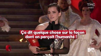 Le petit Q spécial MTV Awards ; Emma Watson reçoit le premier prix unisexe
