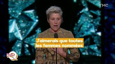 Le Petit Q spécial Oscars 2018 : ce qu'il ne fallait pas manquer