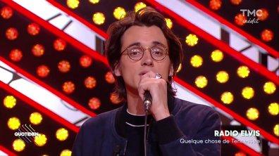"""Pierre Guénard de Radio Elvis : """"Quelque chose de Tennesse """" en live sur Quotidien"""