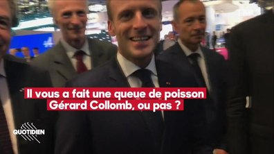 """En pleine tempête Collomb, l'interview de Macron façon """"Salon de l'Auto"""""""