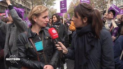 """Le poignant témoignage de Sandrine Bonnaire sur les violences conjugales : """"J'ai craché plein de morceaux de dents, du sang…"""""""
