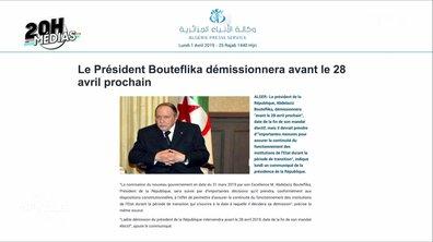 20h Médias : Abdelaziz Bouteflika annonce sa démission