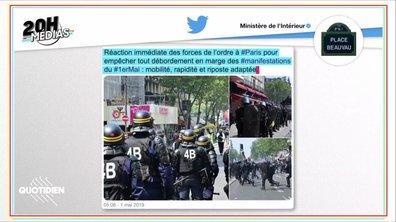 20h Médias : la communication du gouvernement autour du 1er mai