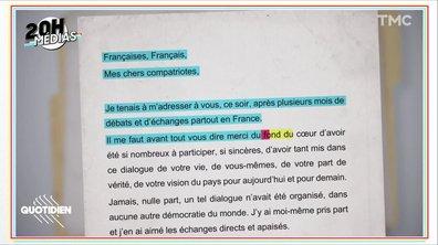 20h Médias : dans les coulisses de l'allocution annulée d'Emmanuel Macron