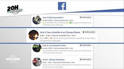 20h Médias : sur Facebook, les gilets jaunes préparent l'Acte 4