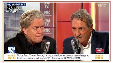 20h Médias : l'offensive médiatique de Steve Bannon dans la presse française