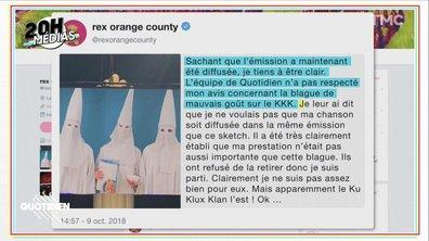 20h Médias : Quotidien répond à Rex Orange County après leur faux-bond