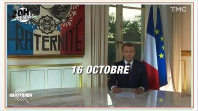 20h Médias : retour sur les allocutions (ratées) d'Emmanuel Macron
