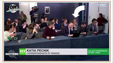 20h Médias : RT France décroche sa place à l'Élysée