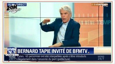 20h Médias : le show médiatique de Bernard Tapie