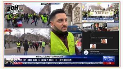 """20h Médias : le week-end des gilets jaunes dans les médias """"alternatifs"""""""