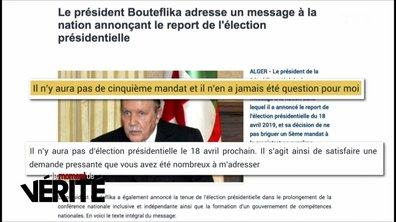 Le Moment de vérité : Abdelaziz Bouteflika renonce à un cinquième mandat