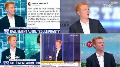 Adrien Quatennens de la FI : si jeune et déjà si radoteur