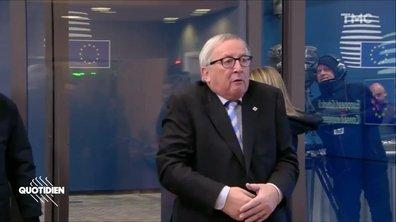 Les bonjours chelous de Jean-Claude Juncker
