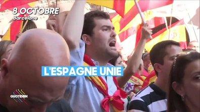 La Catalogne finit 2017 plus divisée que jamais