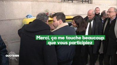 Chaouch Express: le portrait de Simone Veil tagué a été restauré