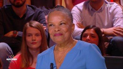 """Cinq ans après le Mariage pour tous, Christiane Taubira toujours """"submergée par l'émotion"""""""