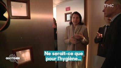 La dérangeante visite d'Agnès Buzyn à l'hôpital de la Pitié-Salpêtrière