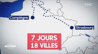 Emmanuel Macron en itinérance : demandez le programme
