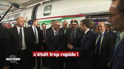 Emmanuel Macron, le Maroc et le TGV