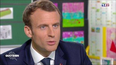 """Quand Emmanuel Macron veut faire """"jeune"""""""