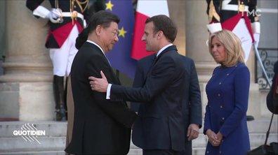 Emmanuel Macron vs Xi Jinping : La Bataille de la poignée de main 2