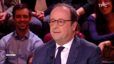 """François Hollande : """"Emmanuel Macron, président des TRÈS riches"""""""